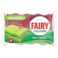 Fairy Multi Purpose Scourer 4 Pack