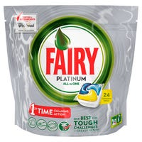 Fairy Platinum All In One Dishwasher Capsules 24 Pack