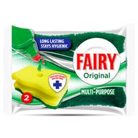 Fairy Hygienic Scourer Original 2 Pack
