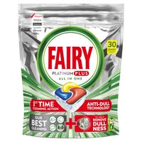Fairy Platinum Dishwasher Tablets Lemon 30 Pack