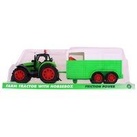 Farm Tractor with Horsebox