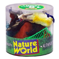 Natural World Farm Animals and Playmat 18 Pack