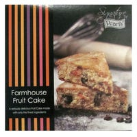 Pearl's Farmhouse Fruit Cake With Fruit and Cherries 350g