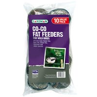 Gardman Co-Co Fat Feeder for Wild Birds 10 Pack