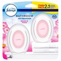 Febreze Bathroom Air Freshener Blossom and Breeze 2 Pack