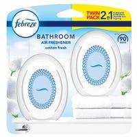 Febreze Bathroom Air Freshener Cotton Fresh 2 Pack