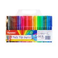 Felt Tip Pens 25 Pack
