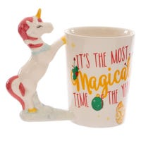 Festive Friends Unicorn Ceramic Mug