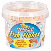 * Feed Me Fish Flakes 50g