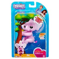 Fingerlings Baby Elephant in Pink