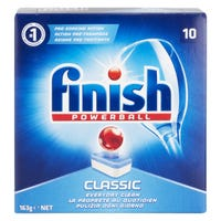 Finish Classic Powerball Dishwasher Tablets 10 Pack