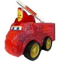 Fire Engine With Blocks
