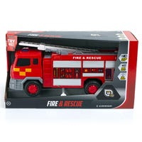 Speed Hub Rescue Fire Engine with Lights and Sounds
