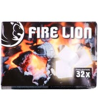 Fire Lion Firelighters 32 Pack