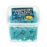 Blue Raspberry Bottles 180g