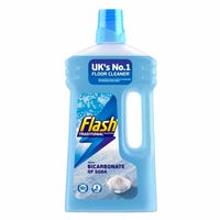 Flash Multi Purpose Floor Cleaner Liquid with Bicarbonate of Soda 1L