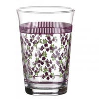 Floral Decorated Drinking Glass 3 Pack