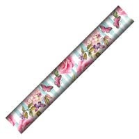 Floral Stripe Wrapping Paper 2m
