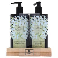 Floral Hall Long Stemmed Lilies Handwash and Lotion 500ml