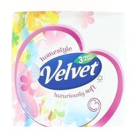 Velvet Cube Tissues 3ply