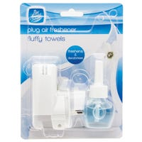 Pan Aroma Plug In Air Freshener Fluffy Towels