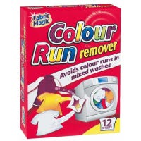 Fabric Magic Colour Run Remover Sheets 12 Pack