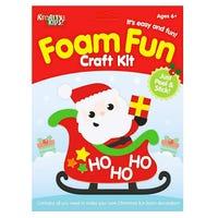 Christmas Foam Fun Santa Craft Kit