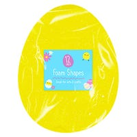 Easter Egg Foam Shapes 12 Pack