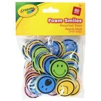 Crayola Foam Smiles 80 Pieces