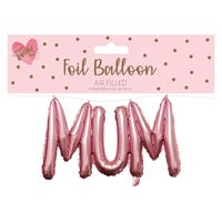 Mum Foil Balloon in Pink
