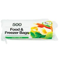 Food And Freezer Bags 500