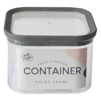 Storage Container in Grey 500ml