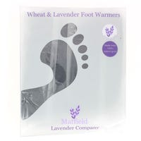 Wheat & Lavender Foot Warmers Blue