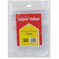 Super Value Heavy Duty Forks 50 Pack