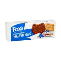 Fox's Milk Chocolate Malted Milk Biscuits 250g