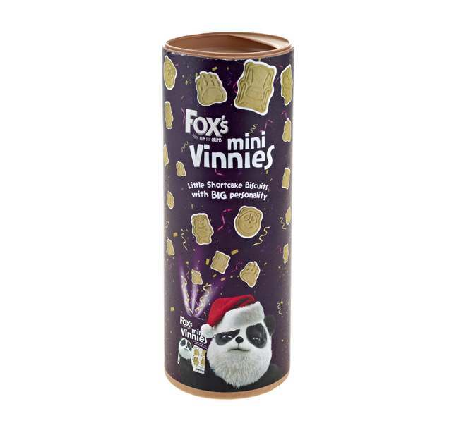 Fox's Tube Mini Vinnies 100g