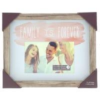 Wooden Frame Family Is Forever 4x6