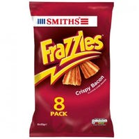 Frazzles Crispy Bacon 8 Pack