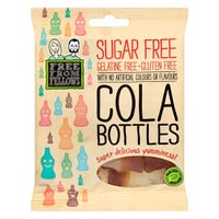 Free From Fellows Cola Bottle Sweets 70g