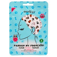 Derma V10 Frenchie Printed Hair Sheet Mask