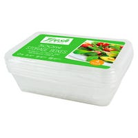 Food Storage Boxes 500ml 4 Pack