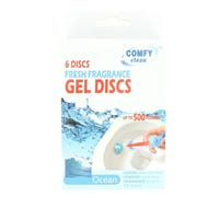 Toilet Cleaning Gel Ocean 6 Discs