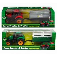 On the Farm Tractor and Trailer Assorted