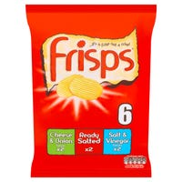 Frisps Variety Crisps 6 Pack