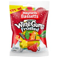 Maynards Bassetts Frosted Wine Gums 165g