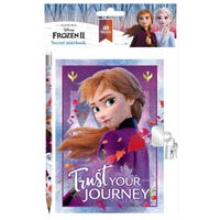 Frozen 2 Secret Diary With Pencil
