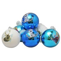Disney Frozen Christmas Shatterproof Baubles 8cm 6 Pack