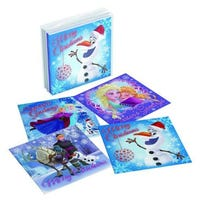 Acetate Cube Disney Frozen Cards 20 Pack