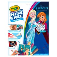 Crayola Frozen 2 Mess Free Colouring Pages and Markers