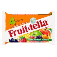 Fruit-tella Chewy Mix 4 Pack